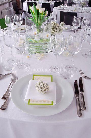 Allestimento per le nozze