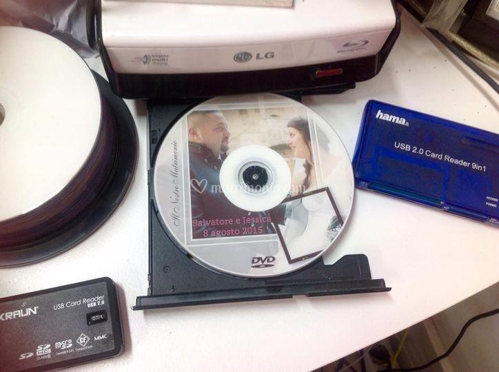 Personalizzazione dvd