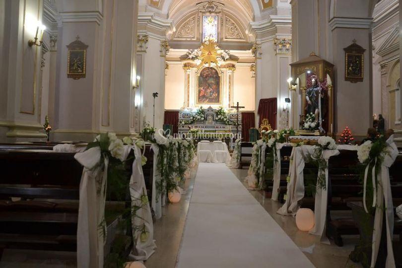 Allestimento Chiesa _ Interno2