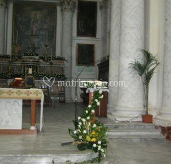 Addobbi per altare