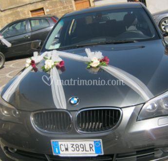 Decorazioni auto sposi