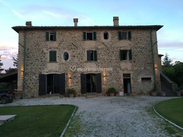 Villa Silenzi by day
