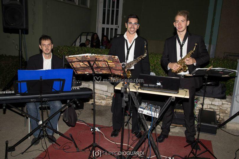 Live set piano e sax