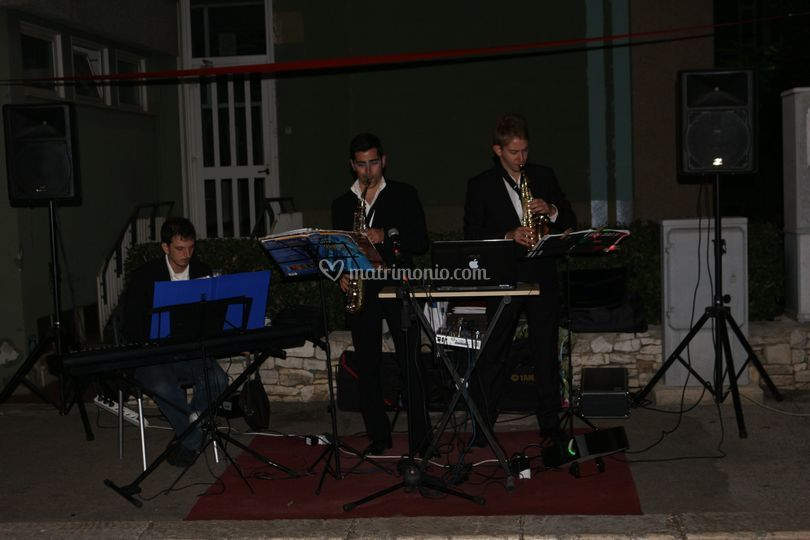 Live piano e sax