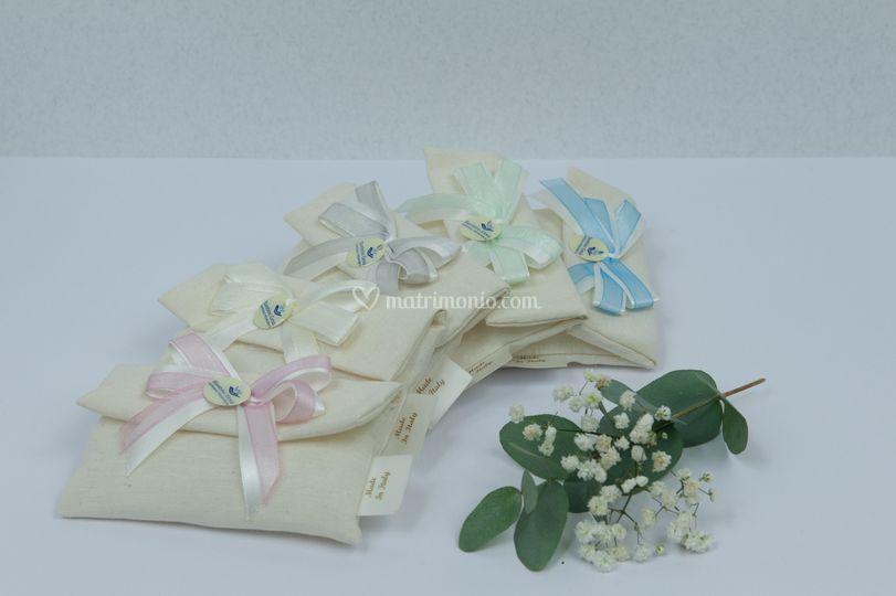 Sacchettini tessuto di cotone