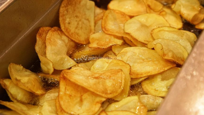Chips di patate fresche