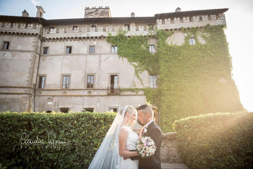 Tramonto al Castello Ruspoli