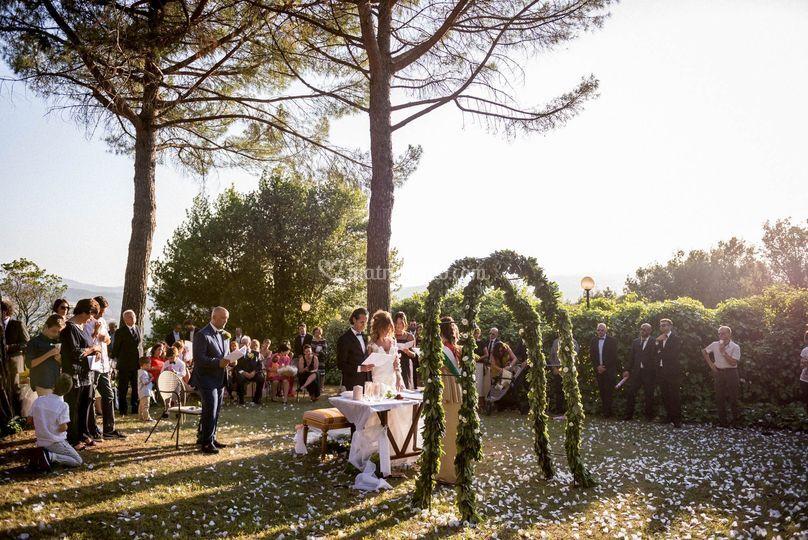 Matrimonio civile hotel Braman