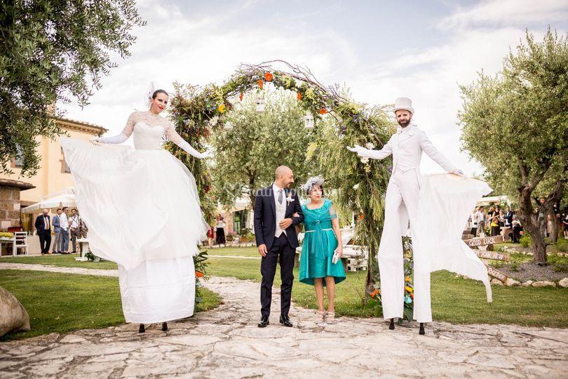 Lo sposo e il  circo bianco