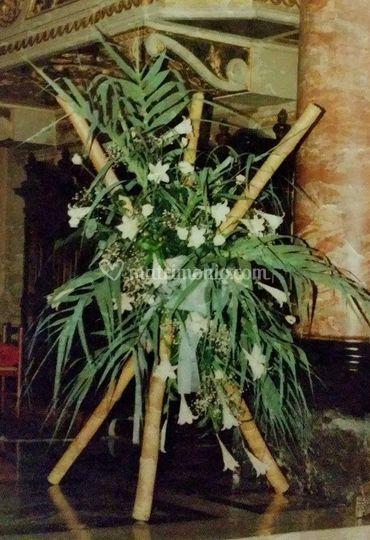 L 39 arte del fiore - Canne bambu in vaso ...