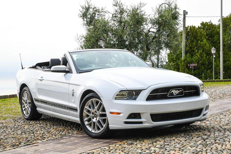 Mustang Bianca