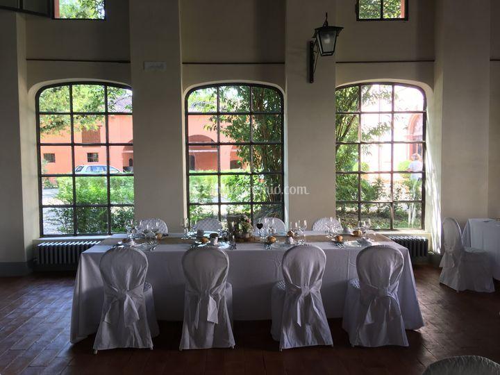 Salone vetrato delle feste