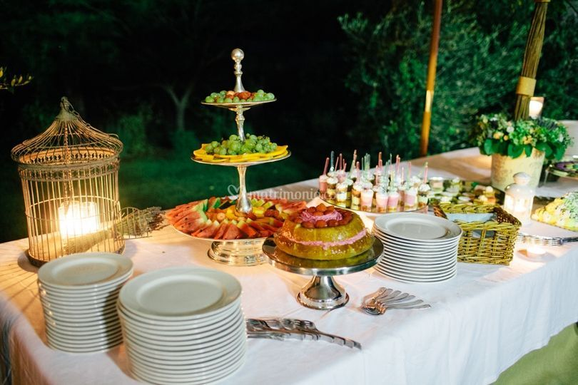 Allestimento buffet dolci