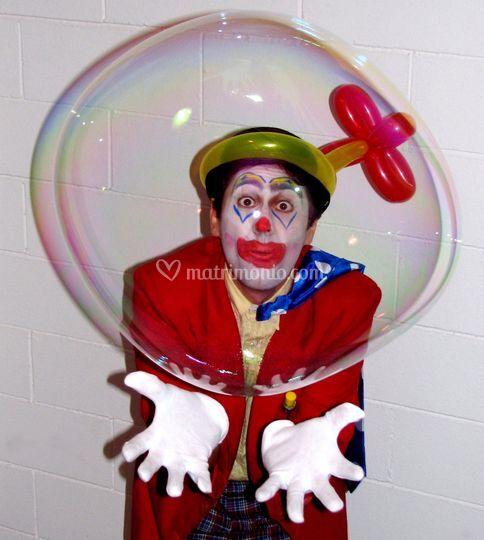 Spettacolo di bolle