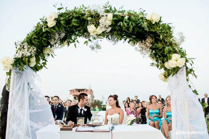 Matrimonio Esclusivo Toscana : Allestimento cerimonia arco di matrimonio esclusivo foto