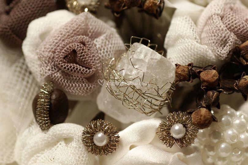 Bouquet, particolare