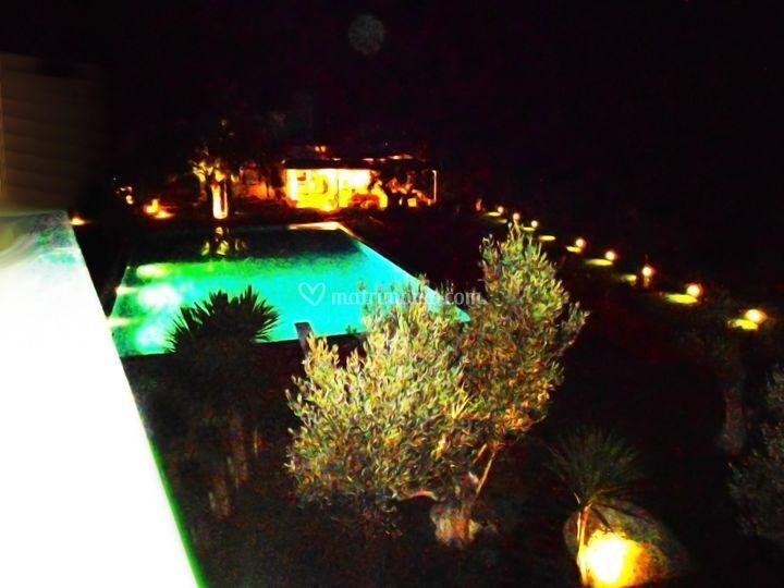 Infinity Pool di notte