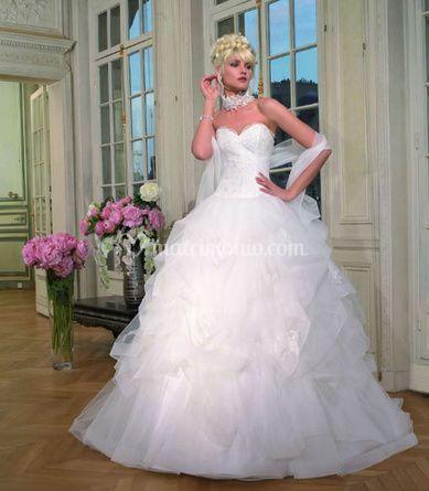 4375598791d5 New Sposabella Abito con velo Abito con velo Abito da sposa