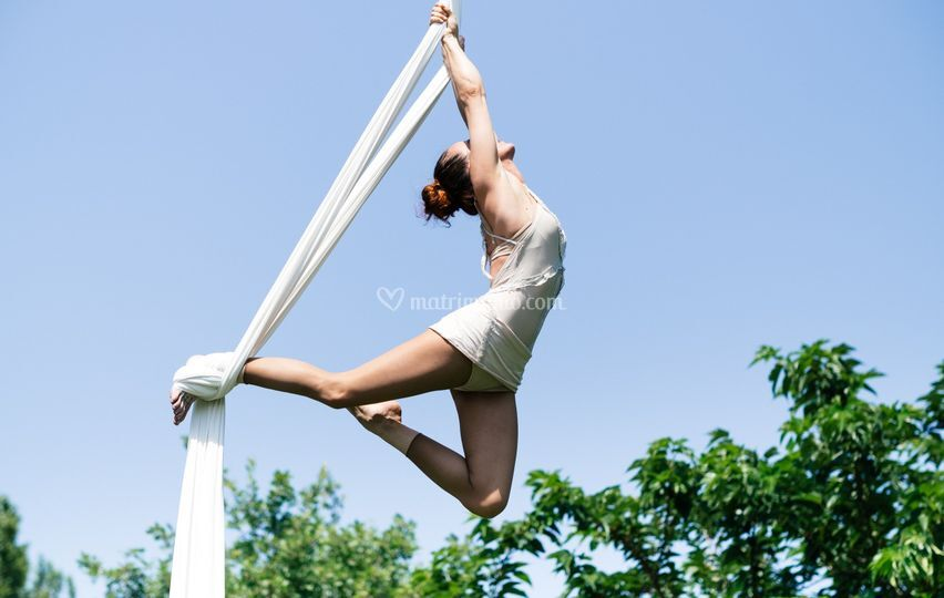 Spettacolo di acrobazie