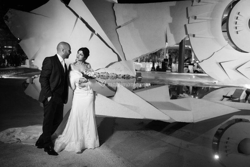 Minoa-biancoenero-sposi