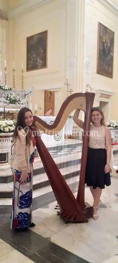 Arpa e voce Dafne Wedding