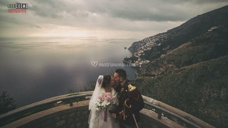 Love on the amalfi coast