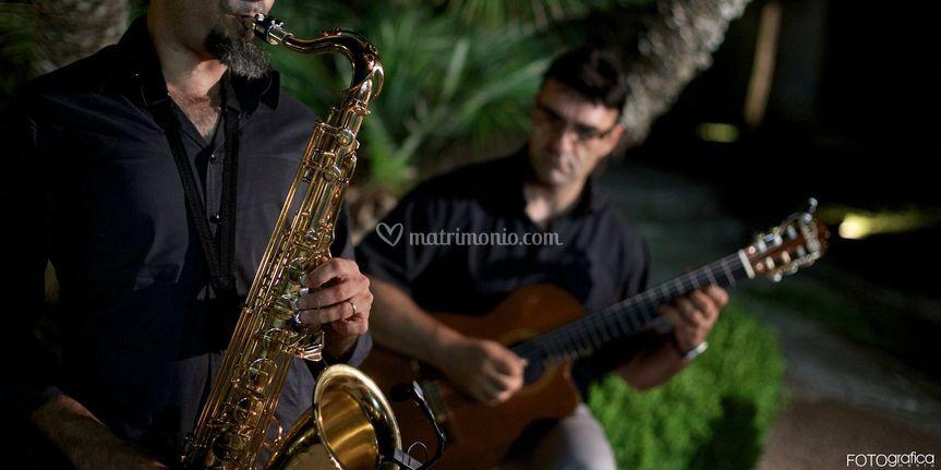 Buffet antipasti sax-chitarra