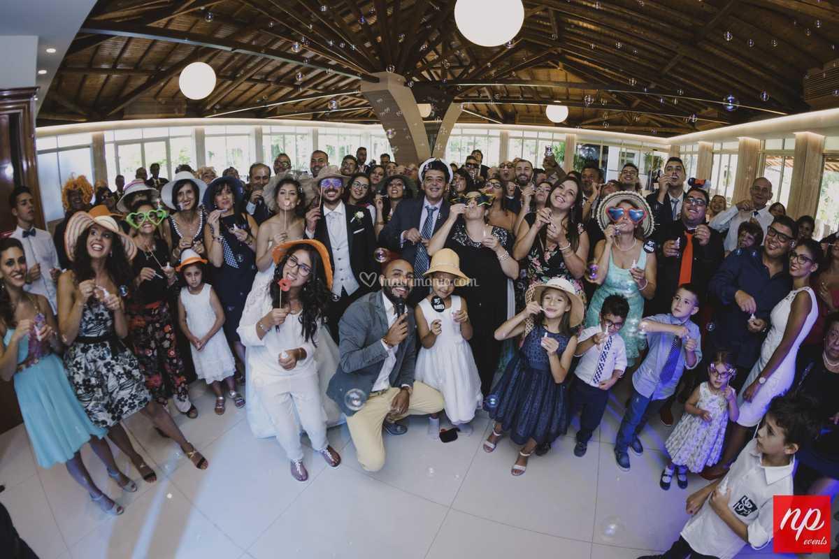 Foto di Gruppo inizio festa