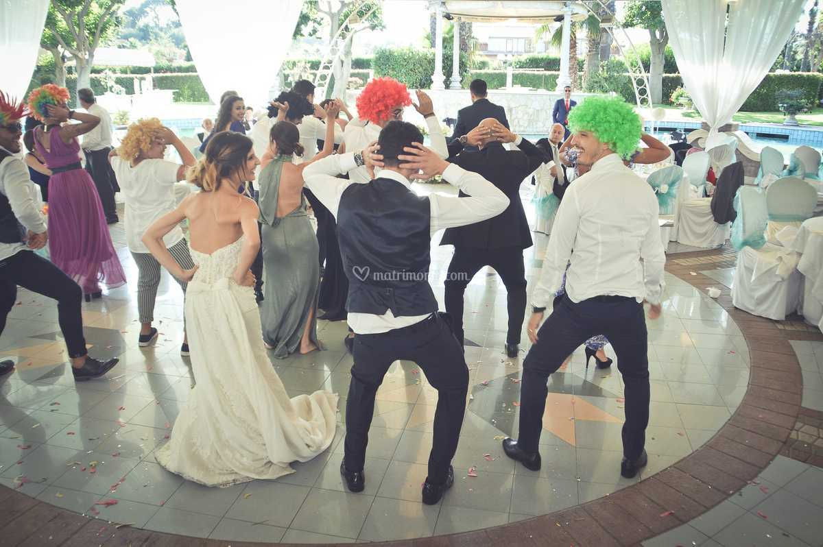 Momento comico/danzante