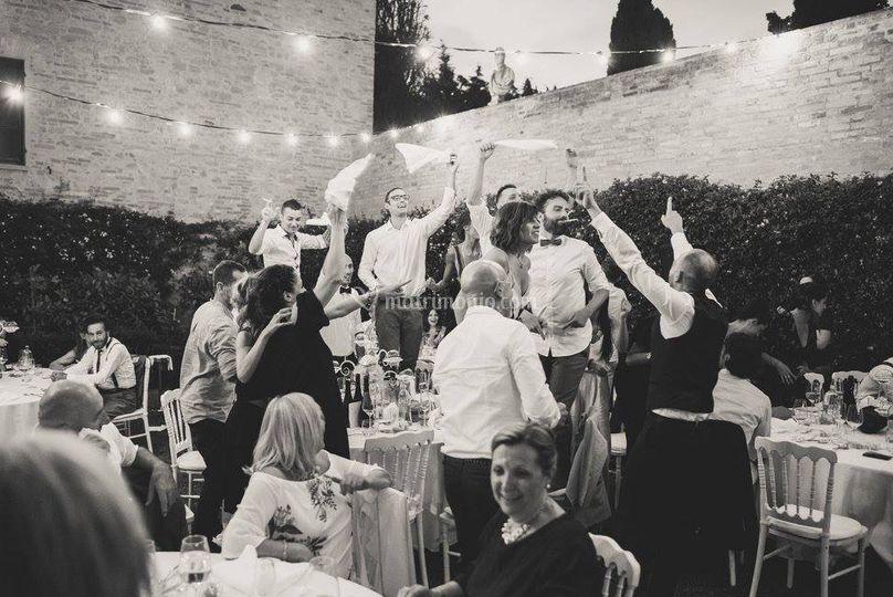 La danza dei tovaglioli