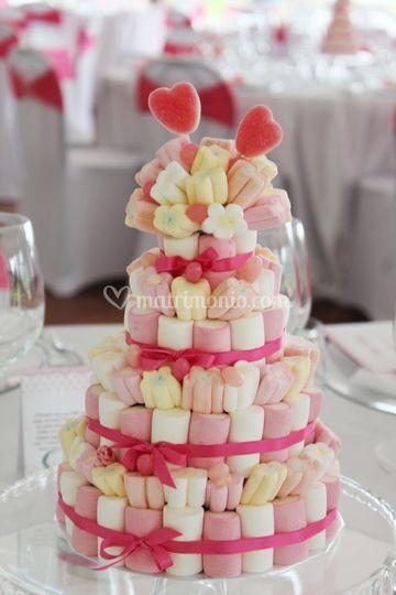 Centrotavola Matrimonio Tema Dolci : Centrotavola tema dolci di vanilla wedding foto