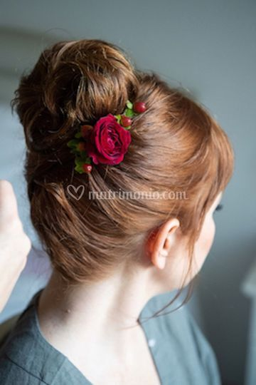 Hairstyle details
