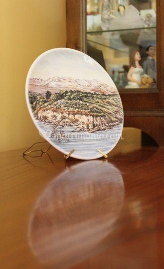 Stampa digitale su ceramica
