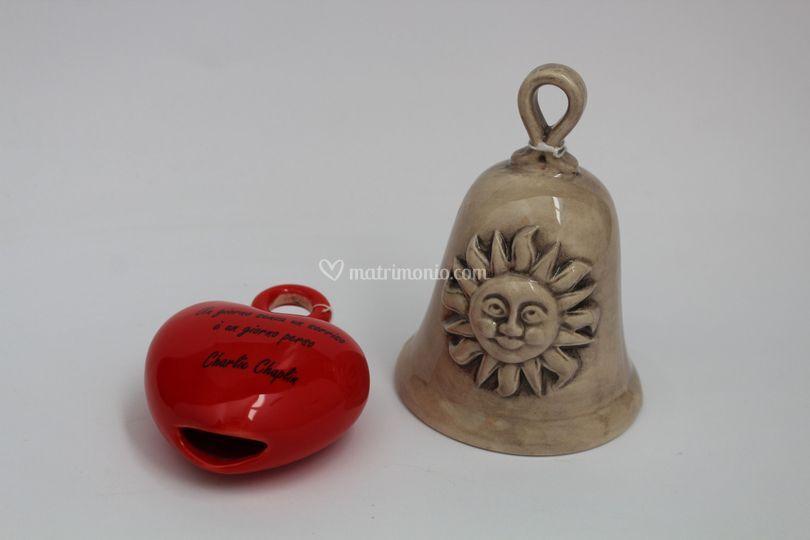 Campanelle in ceramica_cuore