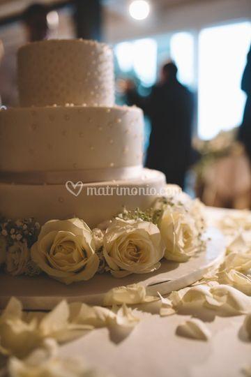 I fiori per la torta nuziale