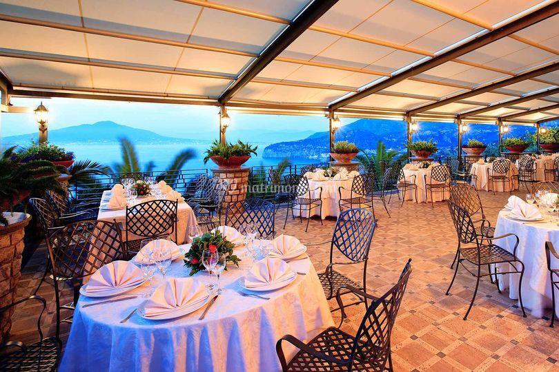 Ristorante Villa Le Palme A Sorrento