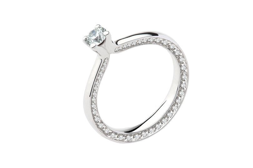 Oro bianco e diamanti 2016