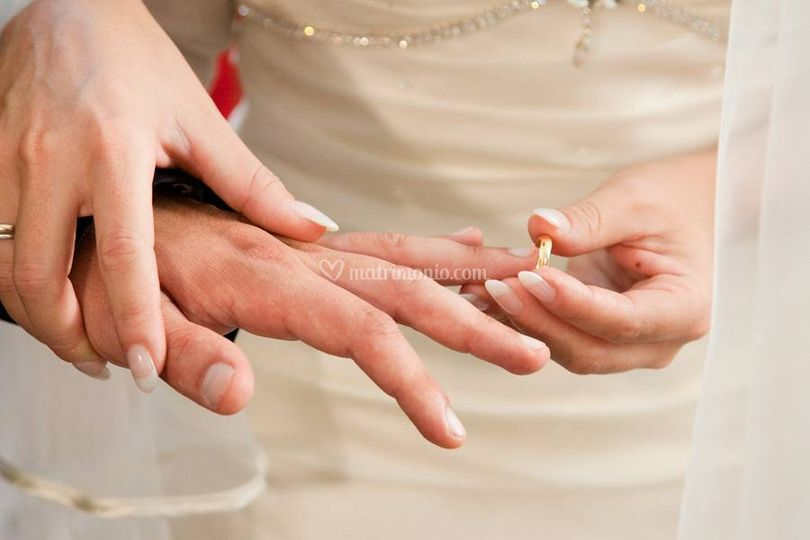 Matrimonio, Scambio anelli