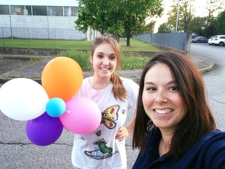 Fiori di palloncini
