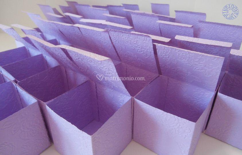 Scatoline confettata