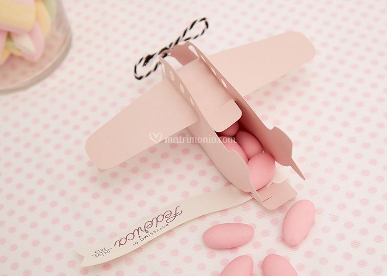 Aeroplanino rosa