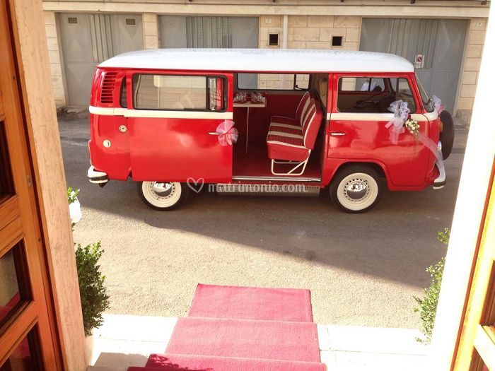 Bruni Cars Pulmino Rosso