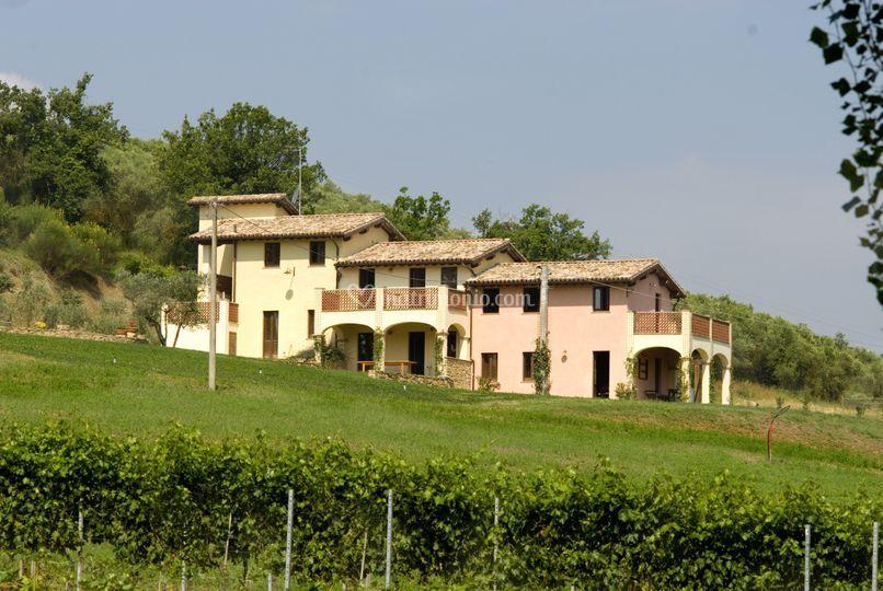 Borgo le Capannelle laterale