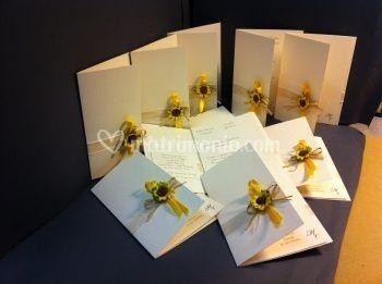 Partecipazioni Matrimonio Con Girasoli : Partecipazioni con girasoli di stampa e crea foto 27