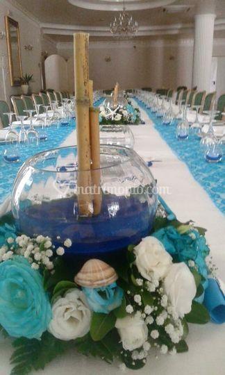Matrimonio Tema Fate : Centrotavola tema mare di le fate dei fiori foto