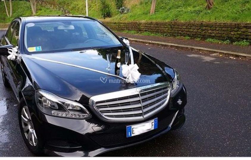 Wedding day Mercedes Classe E
