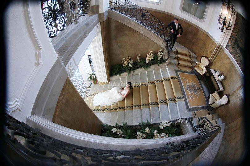 Fisheye staircase