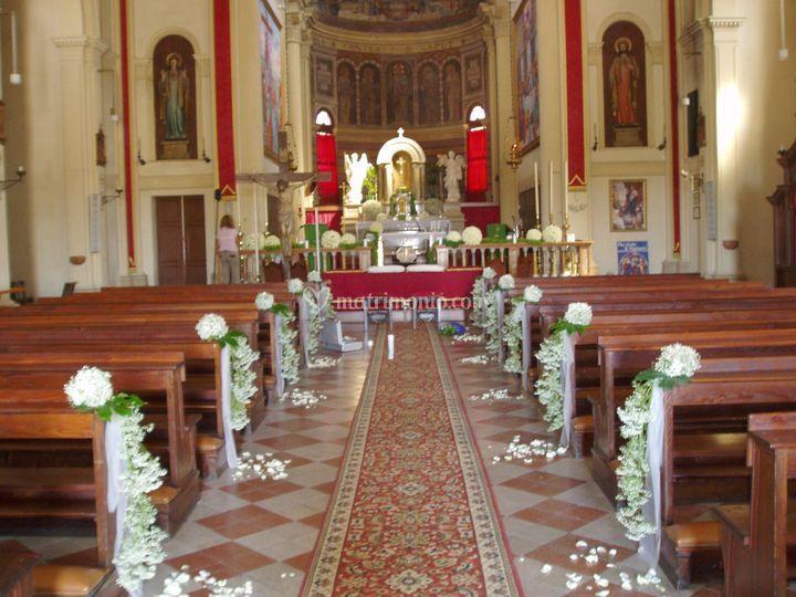 Dettaglio navata