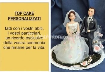 Personaggi per torte nunziali