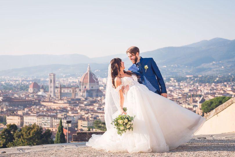 Scatti di coppia a Firenze